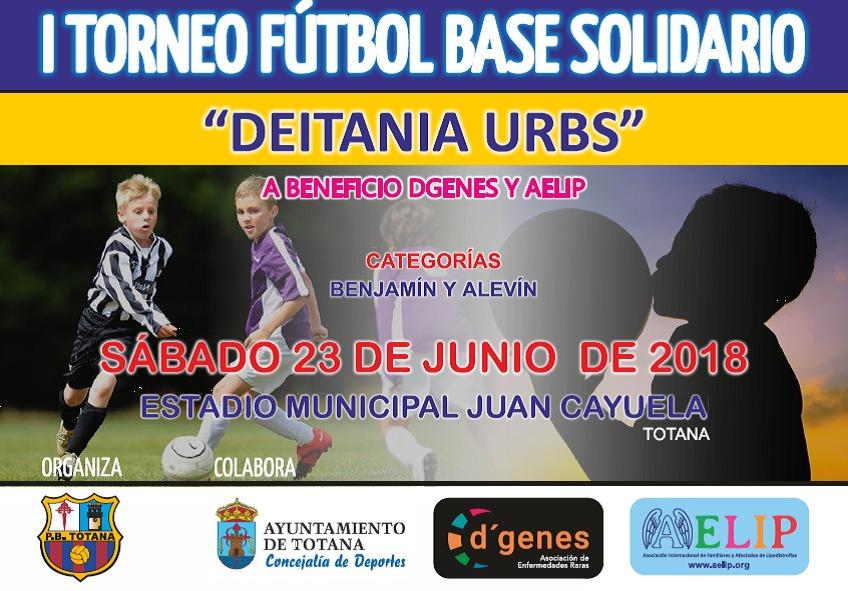 """Resultado de imagen de I Torneo de Fútbol Base Solidario """"Deitania Urbs"""""""