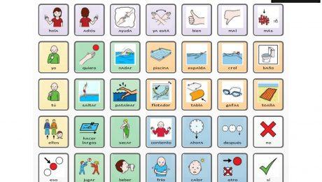 comunicador acuático natación-hidroterapia
